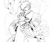 Coloriage et dessins gratuit Dessin Naruto à imprimer
