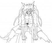 Coloriage Manga Naruto