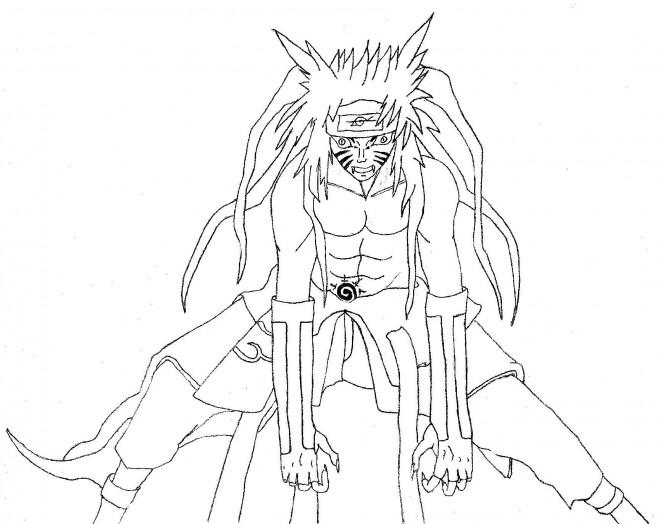 Coloriage et dessins gratuits Manga Naruto à imprimer