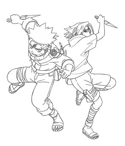 Coloriage et dessins gratuits Naruto 44 à imprimer