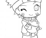 Coloriage Naruto bébé