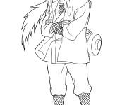 Coloriage et dessins gratuit Naruto Itachi disney à imprimer