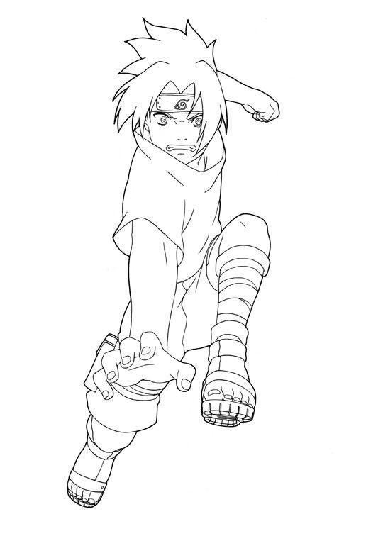 Coloriage naruto le ninja de konoha dessin gratuit imprimer - Dessin de naruto a colorier ...