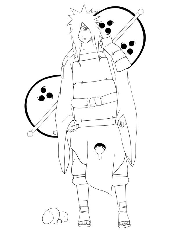 Coloriage et dessins gratuits Naruto Orochimaru à imprimer