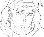 Coloriage Naruto Pain