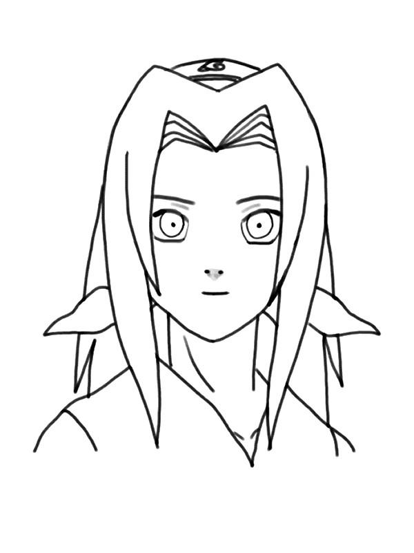 Coloriage et dessins gratuits Naruto Sakura en couleur à imprimer