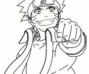 Coloriage et dessins gratuit Naruto shippuden à imprimer