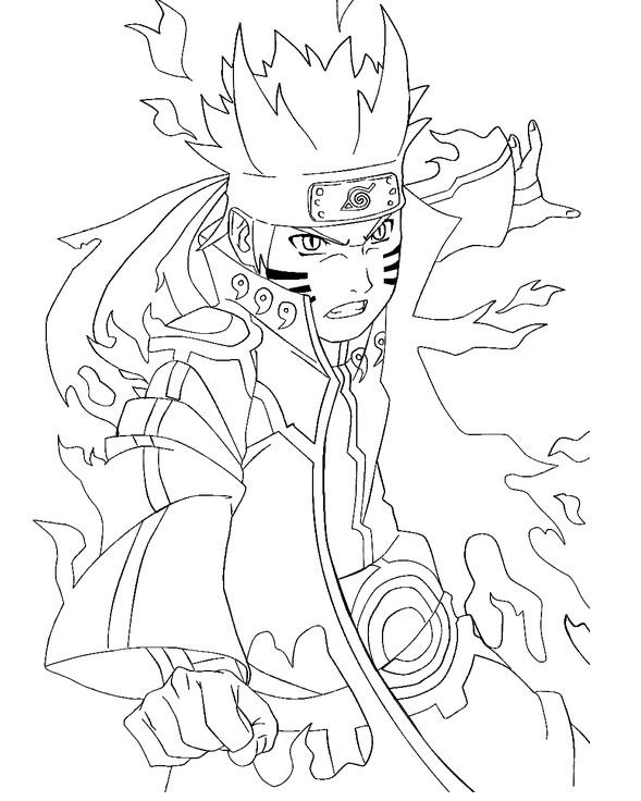 Coloriage Naruto Uzumaki dessin disney dessin gratuit à ...