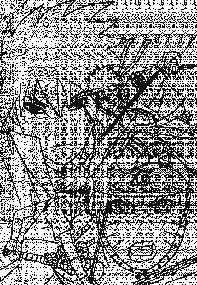 Coloriage et dessins gratuits personnage Naruto Uzumaki à imprimer