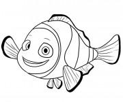 Coloriage et dessins gratuit Image de Nemo à imprimer