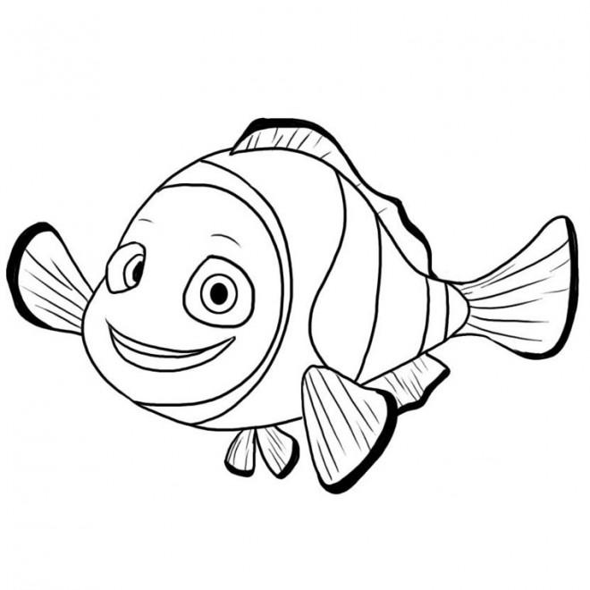 Coloriage Nemo.Coloriage Image De Nemo Dessin Gratuit A Imprimer