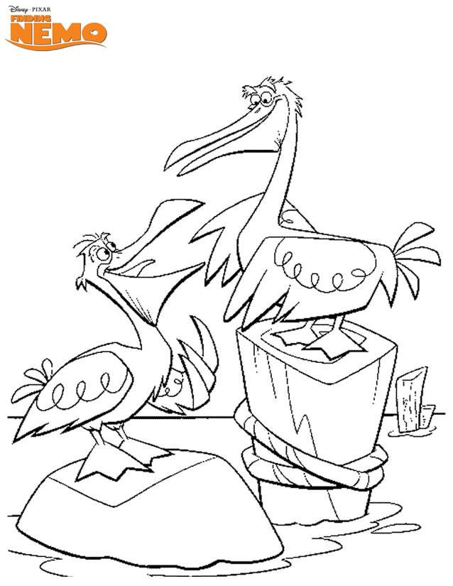 Coloriage et dessins gratuits L'Amiral: Nemo à imprimer