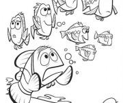 Coloriage et dessins gratuit Marin cherche Nemo à imprimer