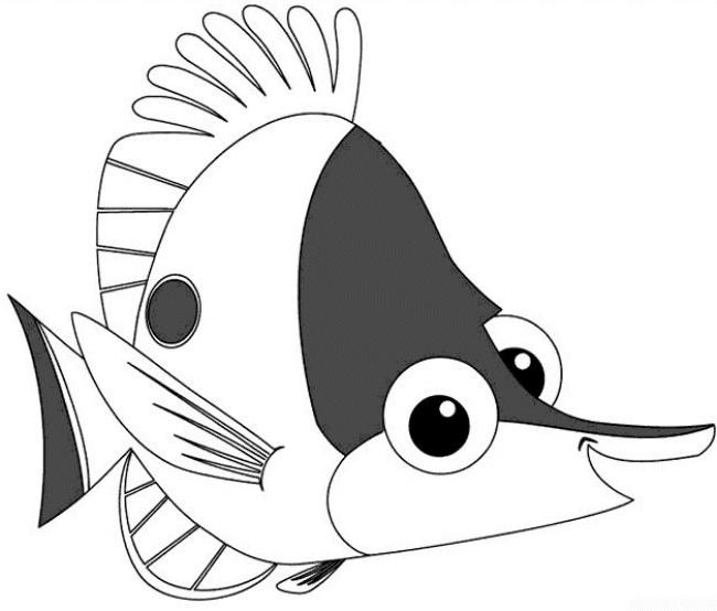 Coloriage et dessins gratuits Nemo à colorier à imprimer