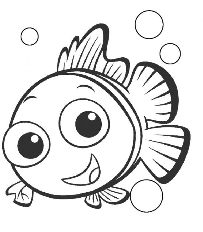 Coloriage et dessins gratuits Nemo à imprimer à imprimer