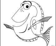 Coloriage Nemo: Dory
