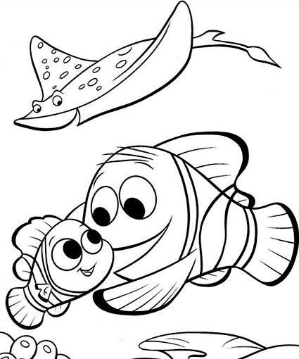 Coloriage En Ligne Nemo.Coloriage Nemo En Ligne Gratuit Dessin Gratuit A Imprimer