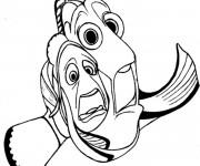 Coloriage et dessins gratuit Nemo et Marin dans le monde de Dory à imprimer