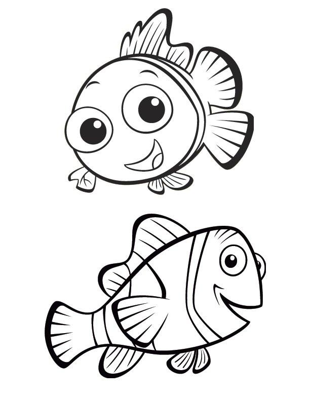 Coloriage et dessins gratuits Nemo et Marin: Le monde de Nemo à imprimer