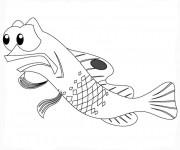 Coloriage et dessins gratuit Nemo Gargouille à imprimer