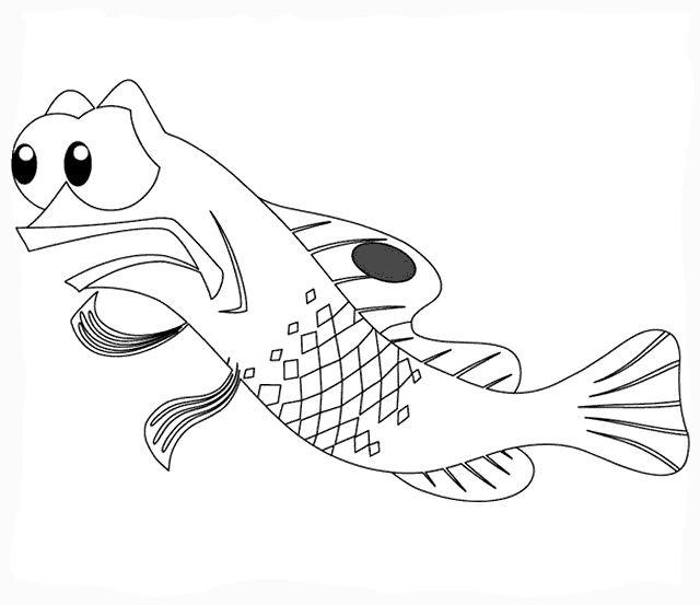 Coloriage et dessins gratuits Nemo Gargouille à imprimer
