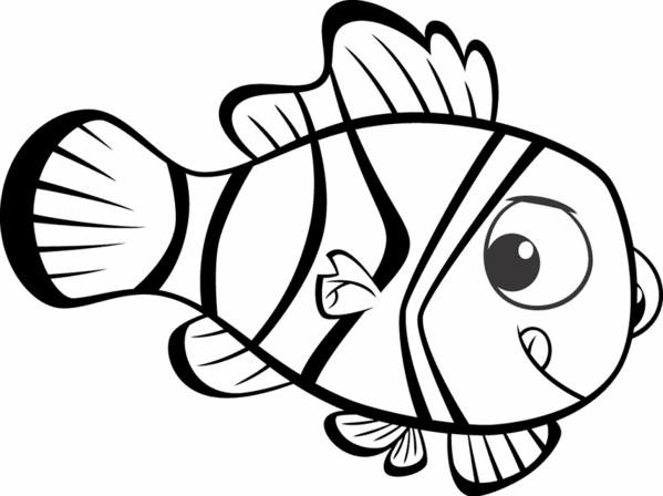 Coloriage et dessins gratuits Nemo gratuit à imprimer
