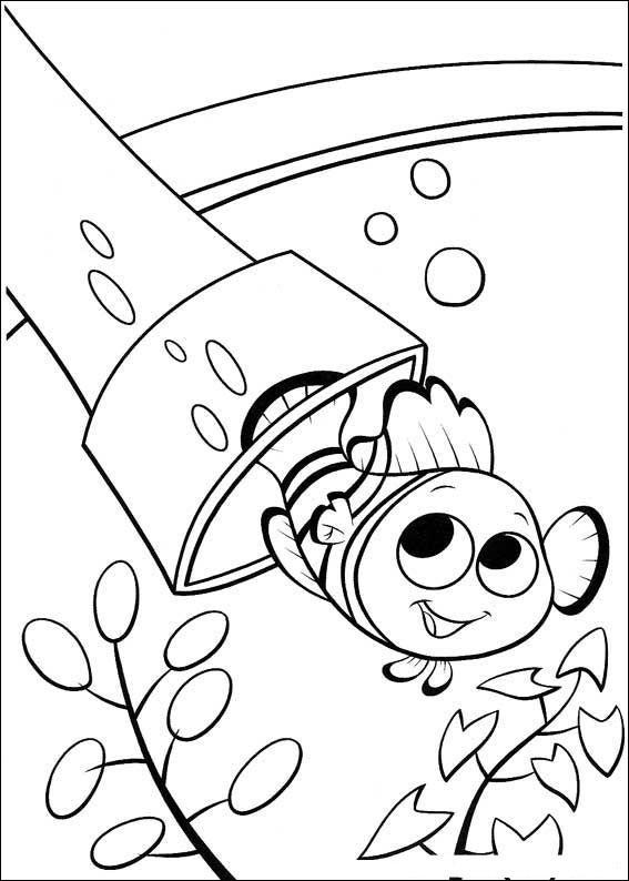 Coloriage et dessins gratuits Nemo imprimer à imprimer