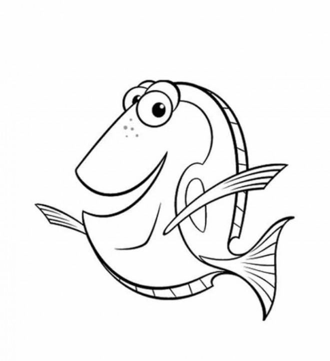 Coloriage et dessins gratuits Nemo: le monde de Dory à imprimer