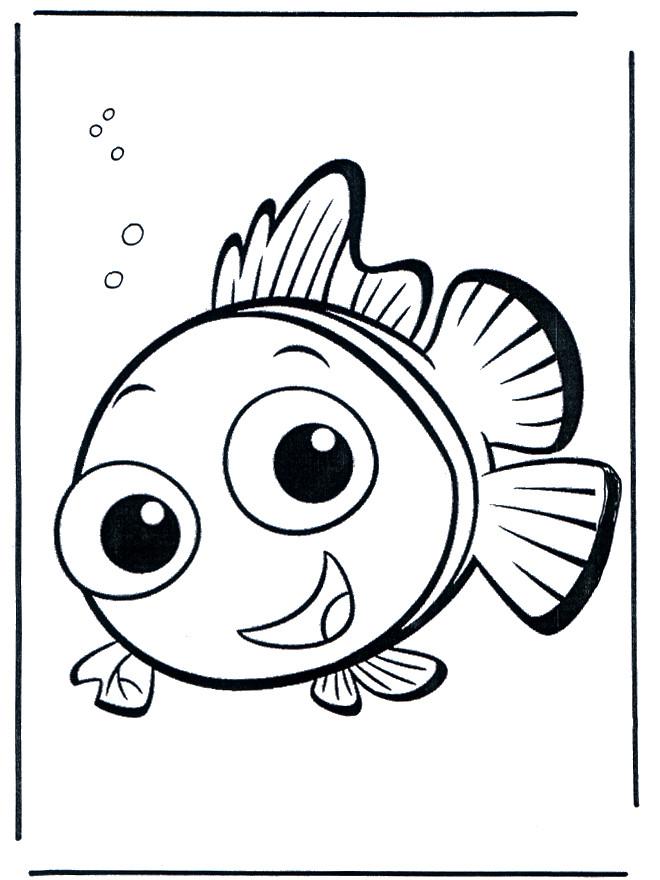 Coloriage et dessins gratuits Portrait de Nemo à imprimer