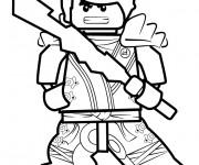 Coloriage et dessins gratuit Dessin Kai Ninjago à imprimer