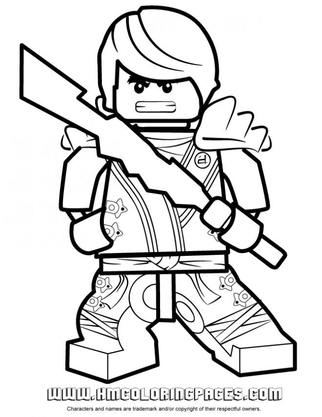 Coloriage et dessins gratuits Dessin Kai Ninjago à imprimer