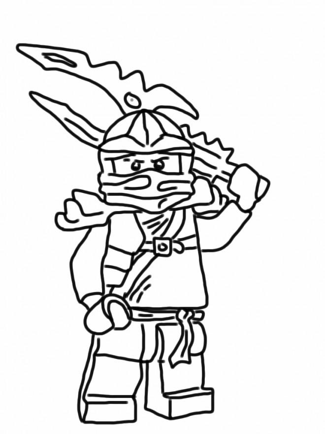 Coloriage dessin ninjago kai dessin gratuit imprimer - Dessin anime ninja ...