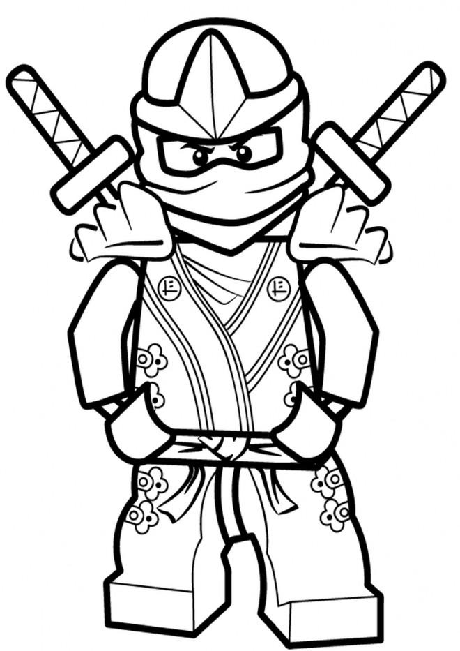 Coloriage lego ninjago kai dessin gratuit imprimer - Dessin anime ninja ...