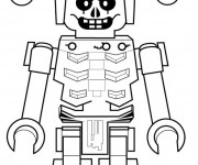 Coloriage et dessins gratuit Méchant robot Ninjago à imprimer