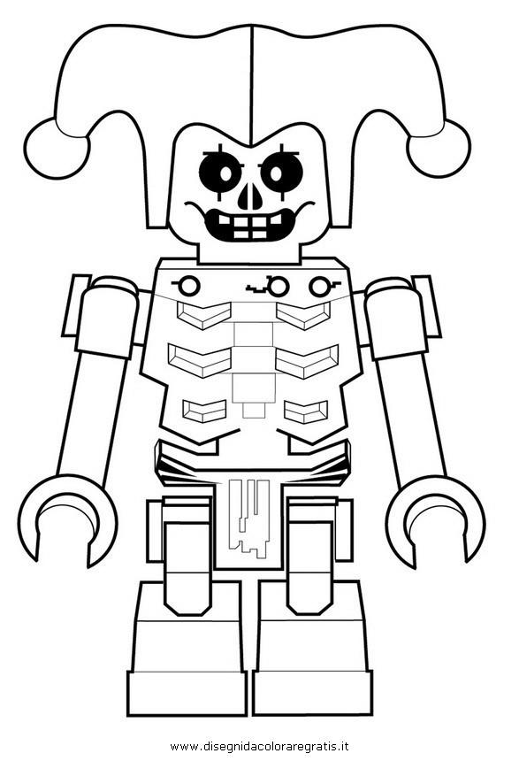 Coloriage et dessins gratuits Méchant robot Ninjago à imprimer