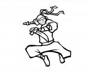 Coloriage et dessins gratuit Ninjago 5 à imprimer