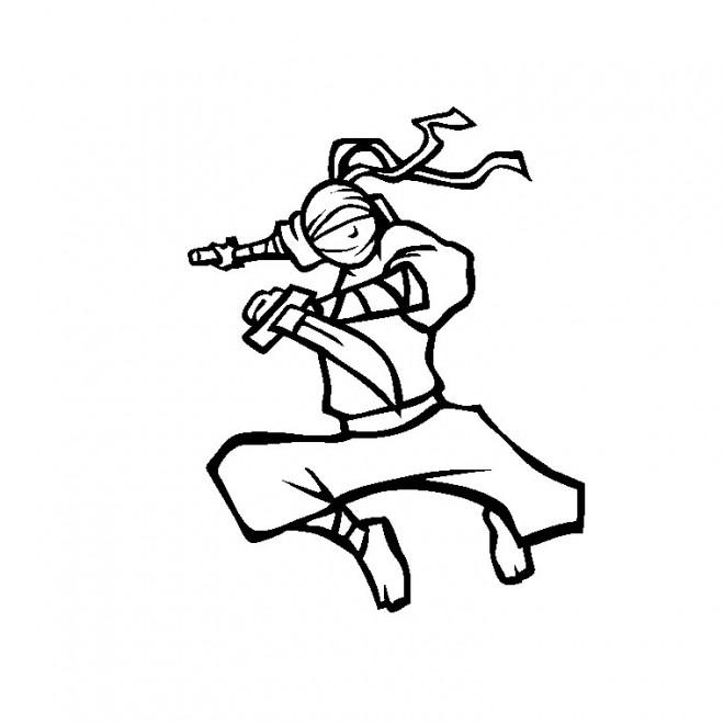 Coloriage ninjago 5 dessin gratuit imprimer - Dessin anime ninja ...
