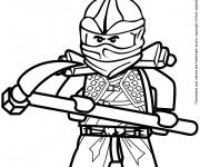 Coloriage et dessins gratuit Ninjago Cole Zx à imprimer