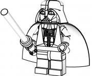 Coloriage Ninjago Darkvador Lego