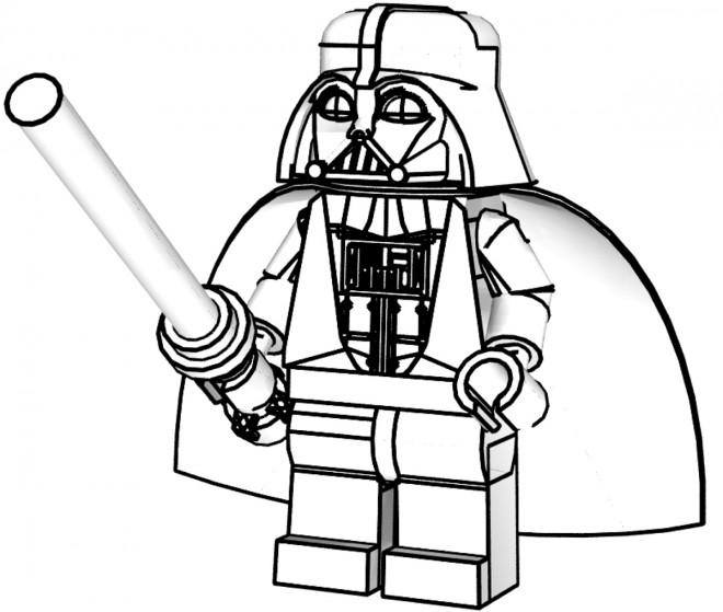 Coloriage Ninjago Darkvador Lego Dessin Gratuit à Imprimer