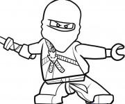 Coloriage et dessins gratuit Ninjago Kai à imprimer