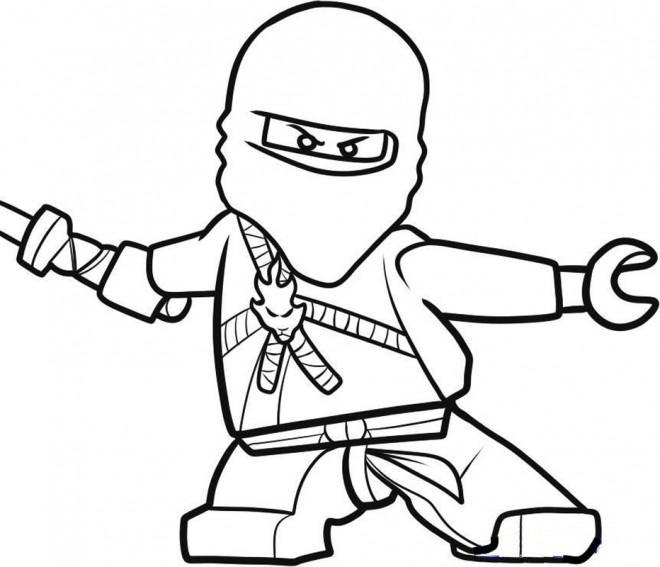 Coloriage et dessins gratuits Ninjago Kai à imprimer