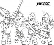 Coloriage Ninjago le film