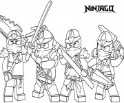 Coloriage dessin  Ninjago le film