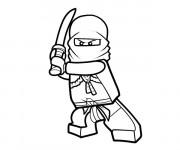 Coloriage et dessins gratuit Ninjago Lloyd à imprimer