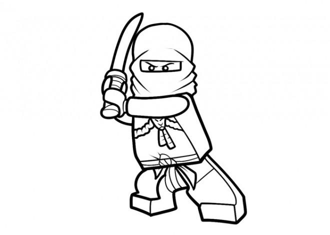 Coloriage et dessins gratuits Ninjago Lloyd à imprimer