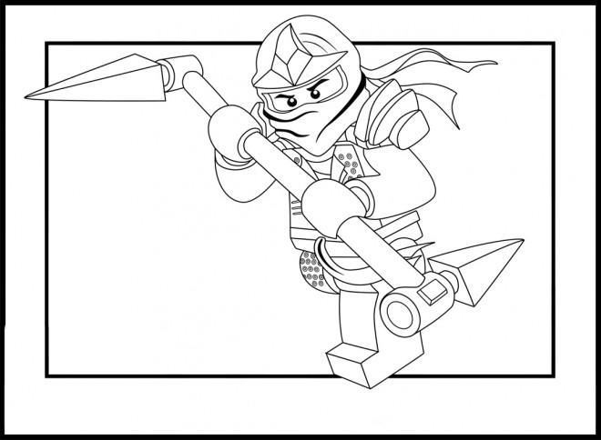 Coloriage ninjago lloyd garmadon dessin gratuit imprimer - Dessin anime ninja ...