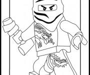 Coloriage Ninjago Master