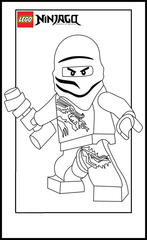 Coloriage ninjago master dessin gratuit imprimer - Dessin anime ninja ...