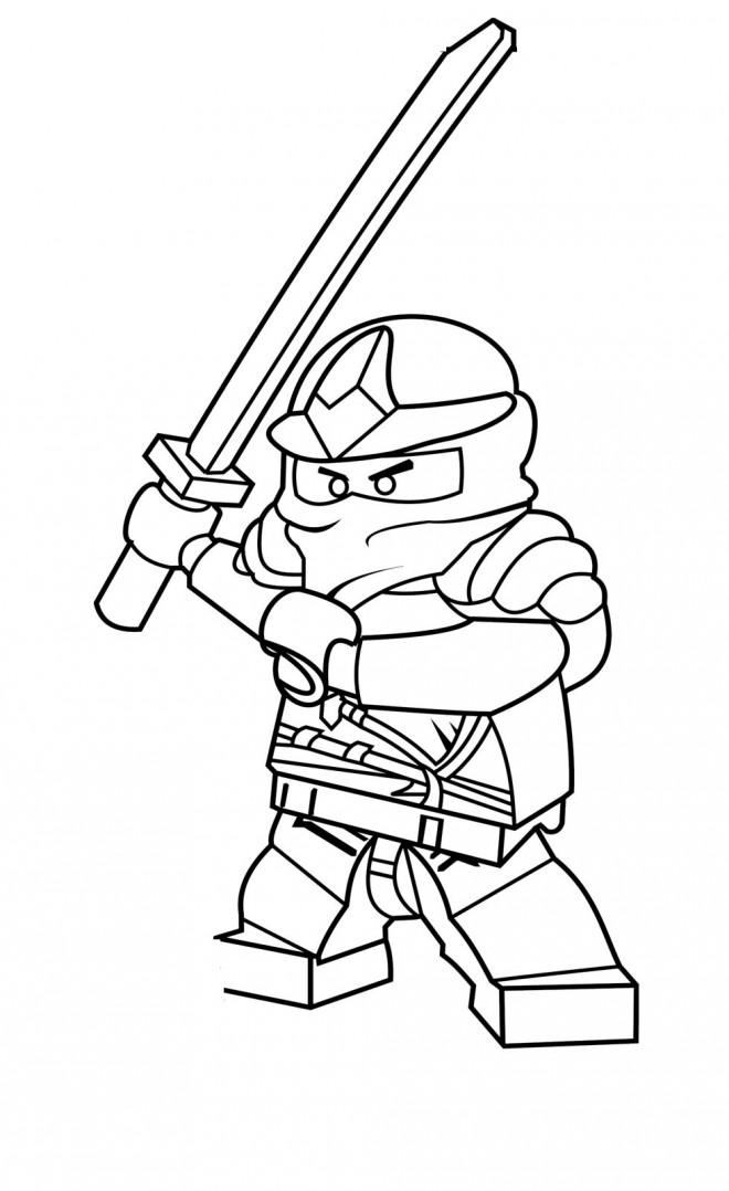 Coloriage et dessins gratuits Ninjago Rouge à imprimer